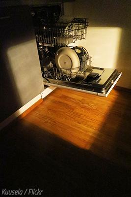 Dishwasher moving tips